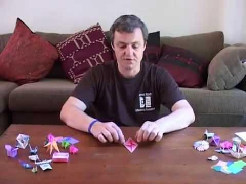 Origami Flying pig (Bodo Haag) Tutorial - YouTube | Origami pig ... | 360x480