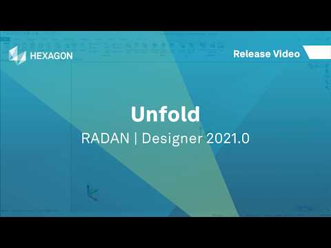Designer - Unfold | RADAN 2021