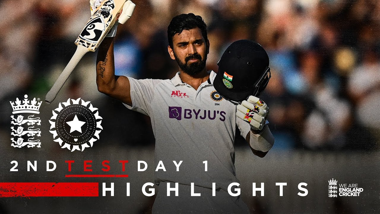 Download KL Rahul 127* at Stumps | England v India - Day 1 Highlights | 2nd LV= Insurance Test 2021