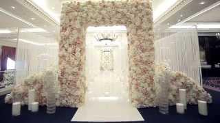 Декор свадьбы в отеле Ritz Carlton Moscow