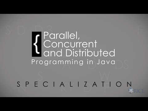 Parallel, Concurrent & Distributed Programming in Java Specialization
