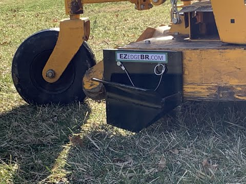 Use Your Mower To Edge Beds With EZ Edge.