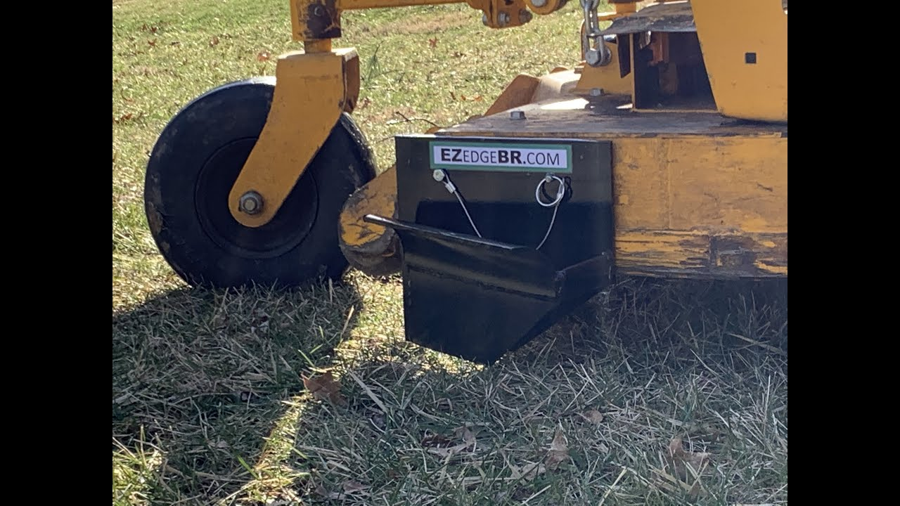 Use Your Mower to Edge Beds with EZ Edge