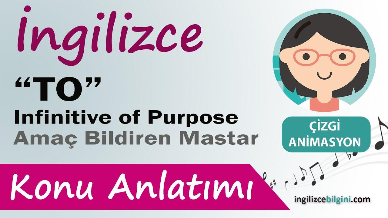 Infinitive of purpose \