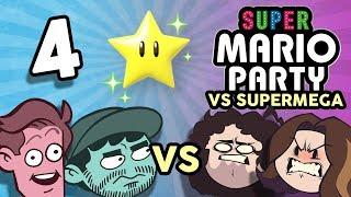 Super Mario Party VS SuperMega: Meat Flippers - PART 4 - Game Grumps VS