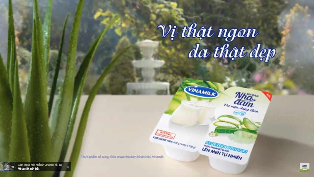Quảng cáo sữa chua Vinamilk nha đam – Bí quyết ngon khỏe từ thiên nhiên (30s)