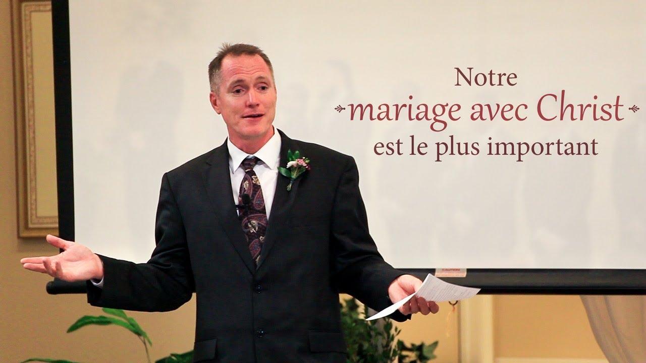 NOTRE MARIAGE AVEC CHRIST EST LE PLUS IMPORTANT