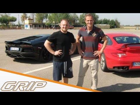 Lamborghini Aventador vs. Porsche GT2 RS Teil 1/2 | GRIP