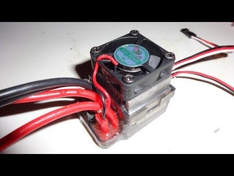 Epoxy glue Waterproofing Speed Controler