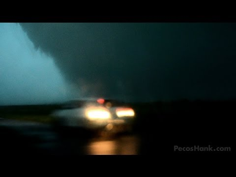 CHASER HIT BY TORNADO - Oklahoma Nightmare