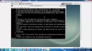 Configuration Apache sur Debian 9