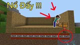 Top 5 Loại Bẫy Bằng TNT Sáng Tạo Nhất Trong Minecraft !!! - Creeper Giả, Cái Bẫy Sự Tò Mò !!!