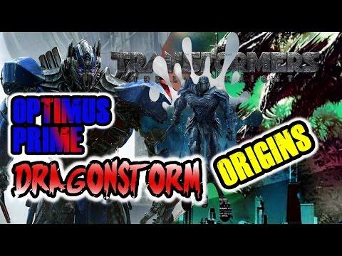 DRAGONSTORM & OPTIMUS PRIME GLADIATOR ORIGINS: DAWN OF THE BEAST Transformers 5 BREAKDOWN