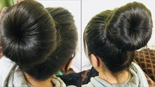 Donut Bun Hairstyle ||  hairstyle juda || Quick And Easy hairstyle || Hairstyle videos