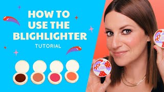 How To Use tнe Blighlighter!   Tutorial of All 4 Shades