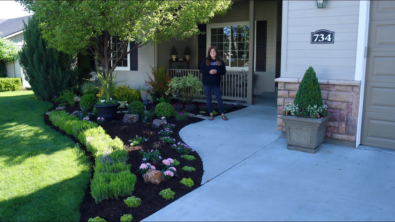 A Flower Bed Makeover For Mother S Day Garden Answer Youtube