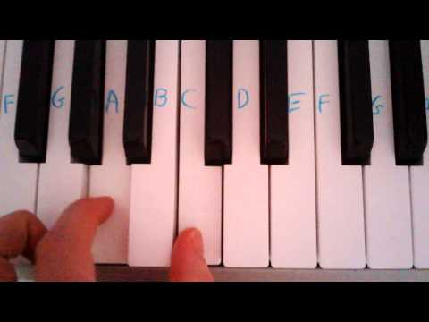 Pachelbel's canon ground bass (2 notes)