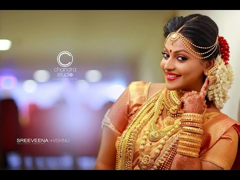 The Most Special Hindu Wedding Highlights In Kerala Sreeveenavishnu