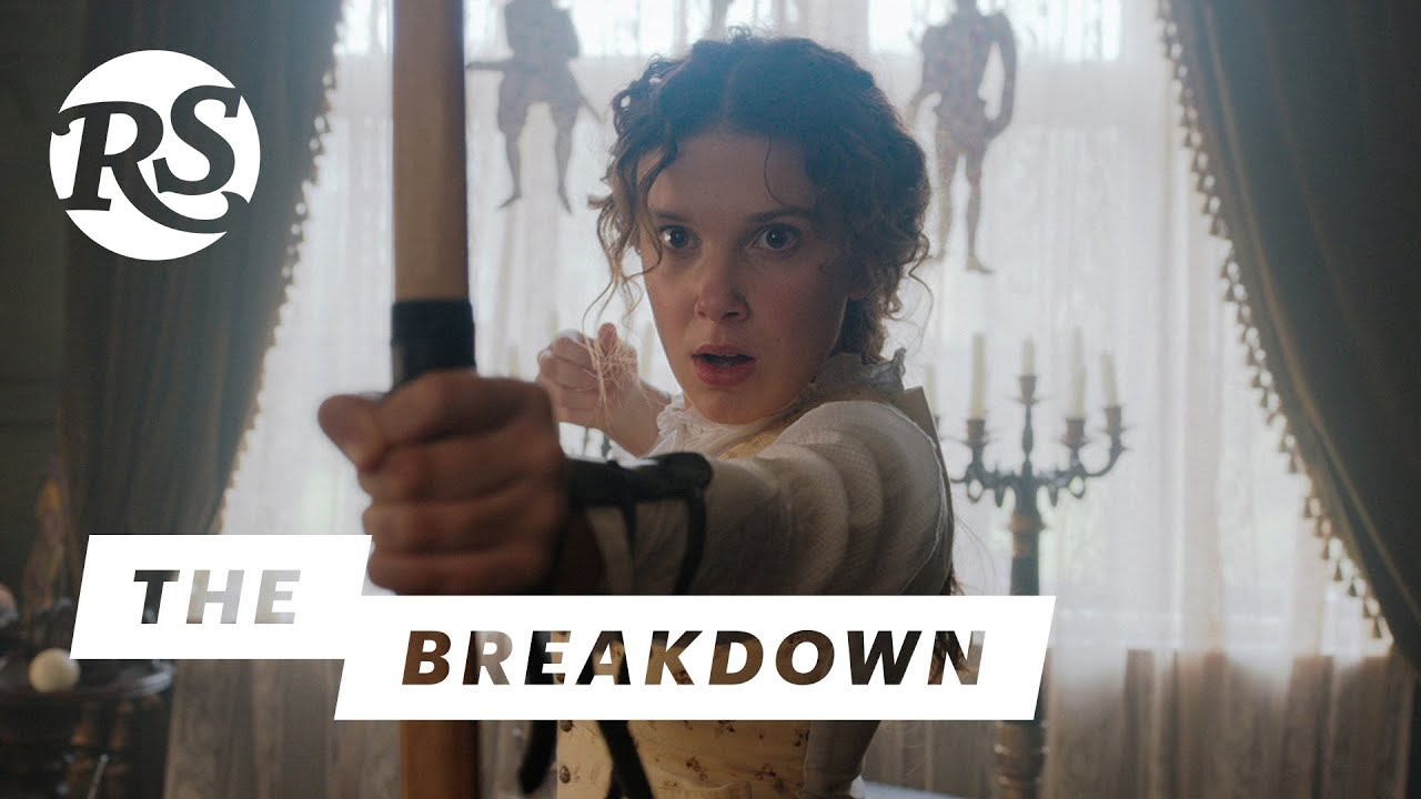 Harry Bradbeer & Millie Bobby Brown on Enola Holmes | The Breakdown