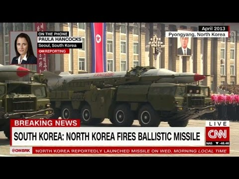 South Korea: North Korea launches ballistic missile