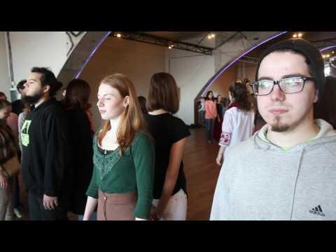 SKIN Interactive Performance Project in Kiev 2
