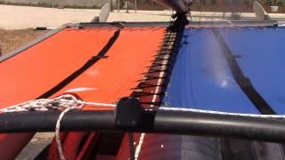 SLOSC Vinyl vs. Mesh Trampoline fabric