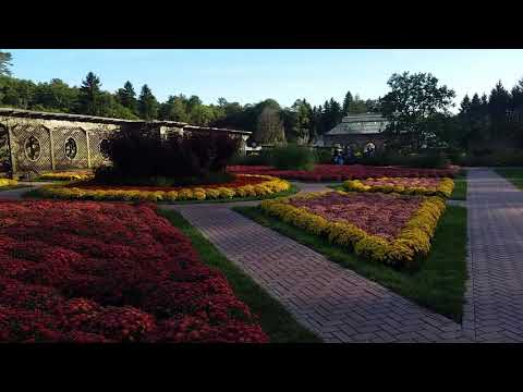 Spectacular Gardens at the Biltmore House Estate, America's Largest House, Asheville, NC
