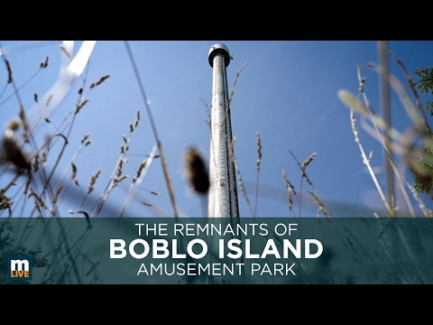 The Remains of Boblo Island Amusement Park