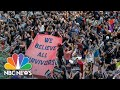 Watch Protesters Take A Stand Against The Vote To Confirm Brett Kavanaugh | NBC News
