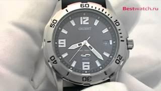 Обзор мужских часов Orient с солнечной батареей FWE00004B0