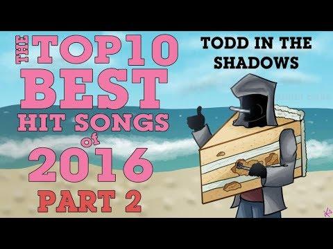 The Top Ten Best Hit Songs of 2016 (Pt. 2)