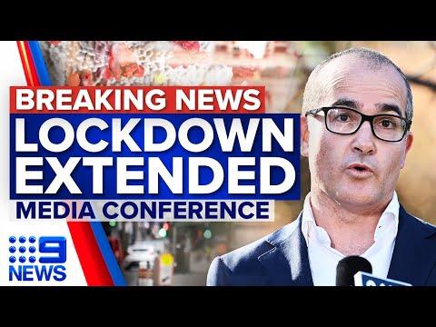 Melbourne lockdown extended by seven days   Coronavirus   9 News Australia
