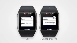 Smart Notifications with the Polar V800 and Polar M400 thumbnail