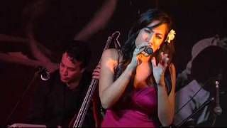 "Michelle Manzo singing Hoagy Carmichael's ""Skylark"" with Phil Javel..."