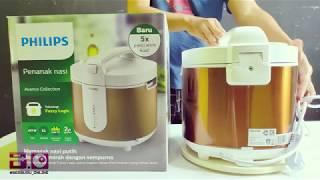 Rice Cooker Philips Fuzzy Logic Durasi 1 menit Buat Promo Dari #BerburuOnline Channel Youtube