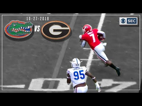 Florida Vs. Georgia 2018: Bulldogs Take Care Of Business | CBS Sports