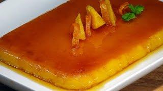 Tocinillo de Cielo al aroma de naranja - La Cocina de Loli Domínguez