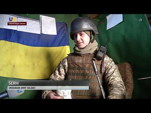Russian Hybrid Forces Attack Ukrainian Positions Near Svitlodarsk
