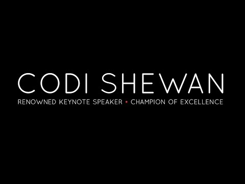 Codi Shewan – Keynote Speaker – 3 minute Sizzle Reel