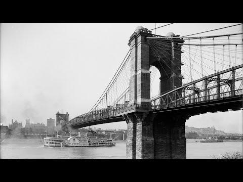 Roebling  Suspension  Bridge,  Cincinnati,  Ohio