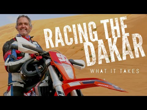 What's it like to compete in the Dakar Rally?