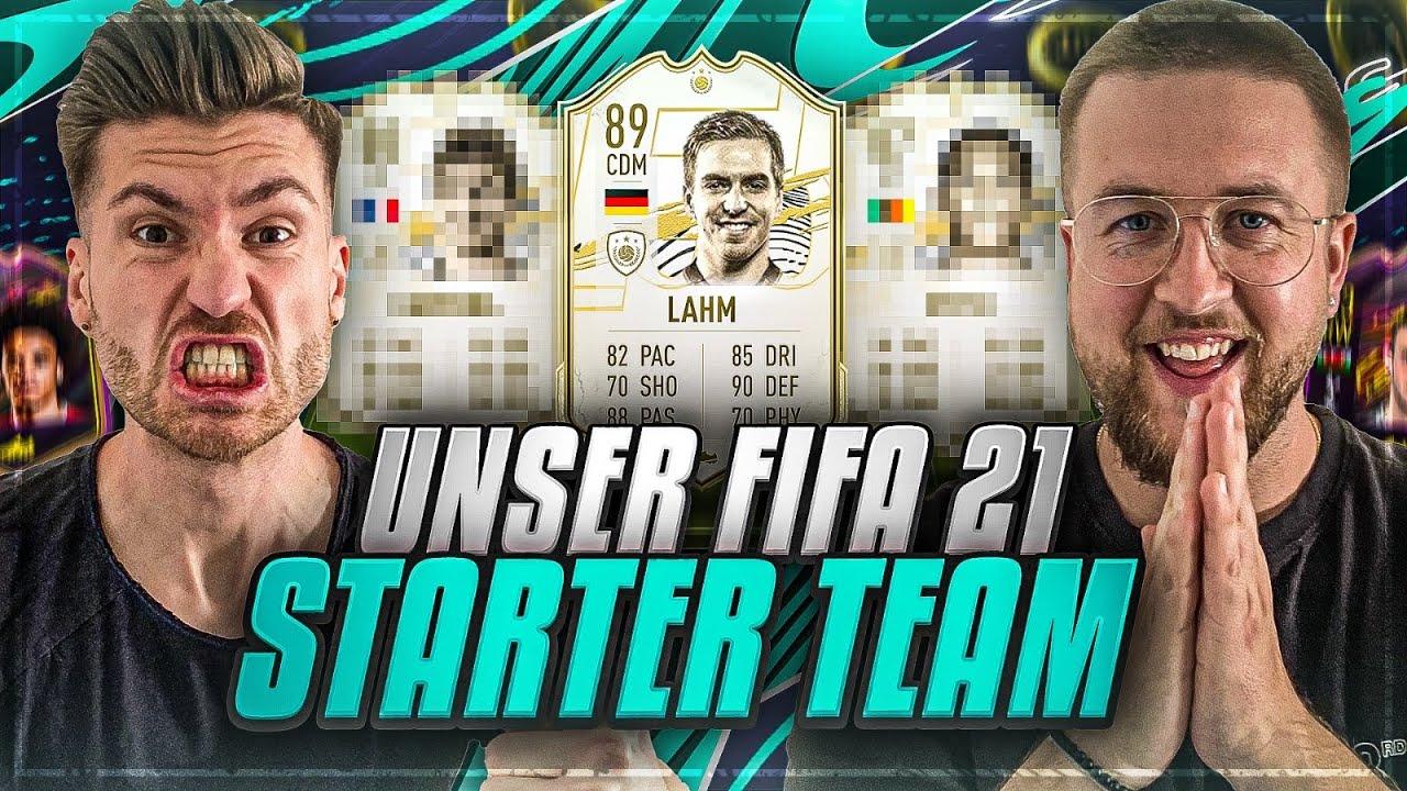 Unser ERSTES Starter DREAM TEAM in FIFA 21 ??FIFA 21: ICON Squad Builder !!
