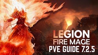 WoW Legion 7.2.5 - Fire Mage BASIC PVE Guide