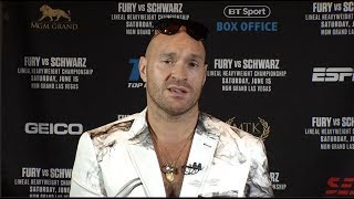 Tyson Fury Has No Interest in Deontay Wilder, Says Anthony Joshua Cares More About Celebrity