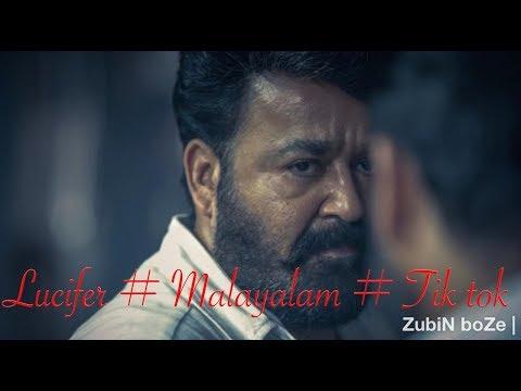 Malayalam | Film | Lucifer | Mohanlal | Mass | Dialogue | Tiktok | Actor | ZubiN boZe