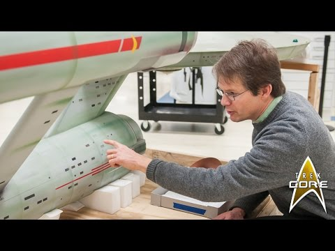 Conservators are helping preserve the most famous model spaceship of all time