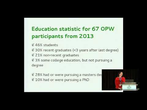 Marina Zhurakhinskaya: Outreach Program for Women: Lessons in Collaboration - PyCon 2014