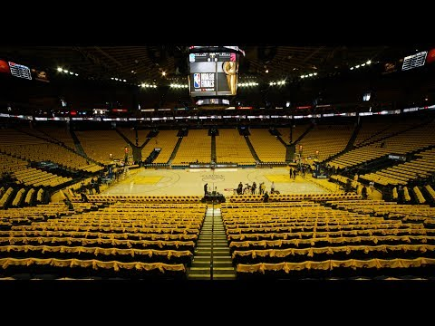 The Sights and Sounds of the Golden State Warriors' Oracle Finale