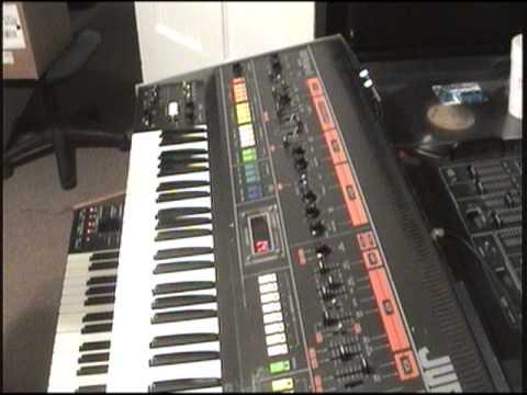 "Roland Jupiter 8 ""Rainforest"" by Paul Hardcastle"