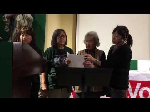 Haru Kuromiya Speaks at Dolores Mission